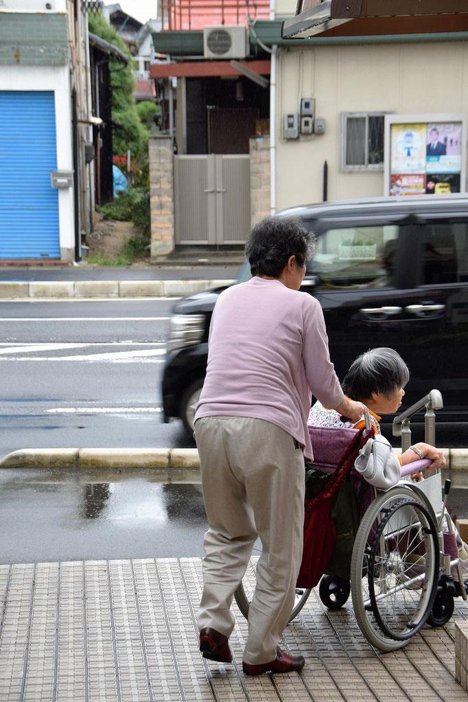 福祉タクシーの手配をして下さったのはこの日の証しを担当された艶子さんでした。