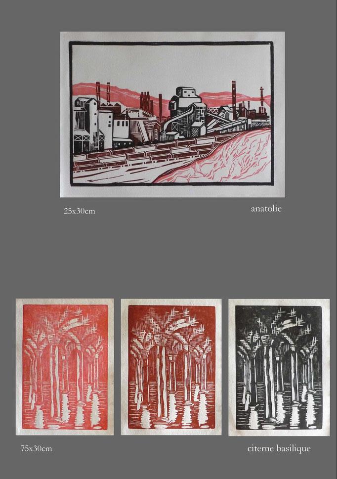 Damien Granelle - gravure sur bois