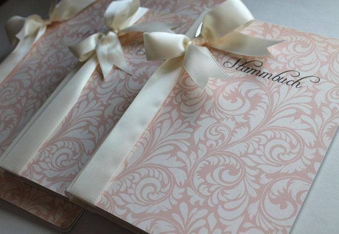 Stammbuch zur Hochzeit, Hochzeitsaccesoire, Familienbuch