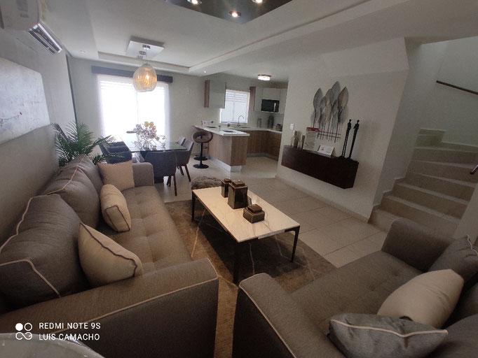 sala y comedor casa modelo veneto