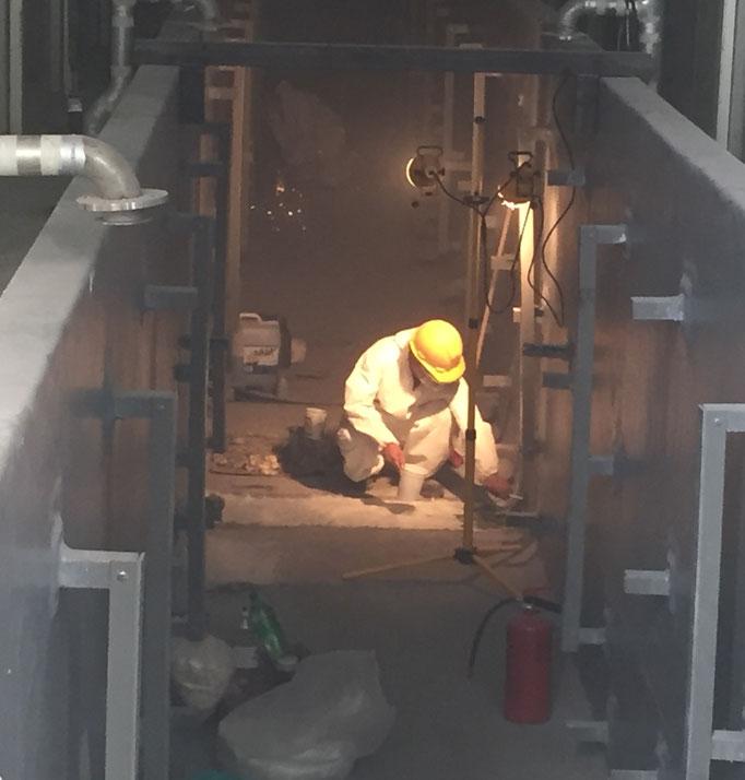 Recubrimientos de cisternas de pintado automotriz