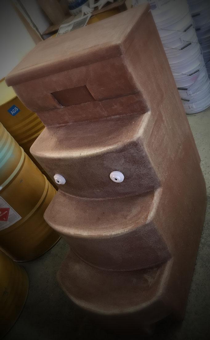 Escaleras para alberca
