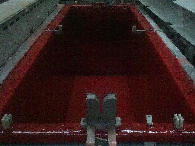 Fabricación completa de tinas en Fibra de vidrio