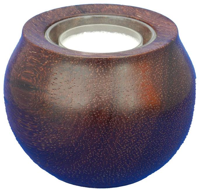 Teelicht 4: mit Glaseinsatz für Teelicht  Ø: 90mm, H: 65mm