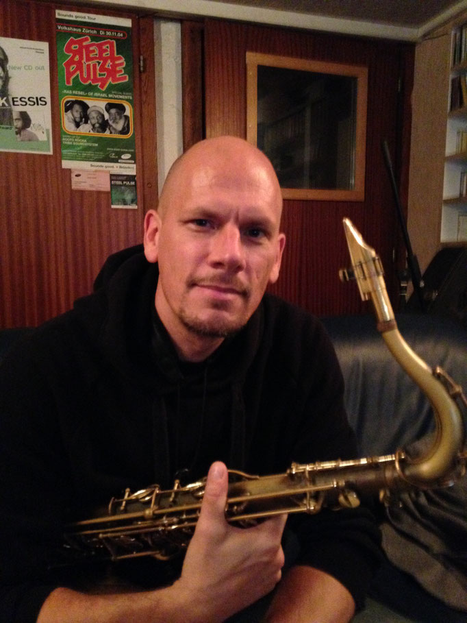 Mike Ryrie, Sax ( Black Earth Band, Audio Tribe )