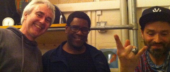 Herbie Stirnimann, Harold Todd ( Lenny Kravitz ), Joe Vitale ( Joe Le Funk )