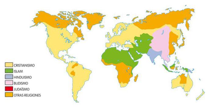 Religiones del mundo actual