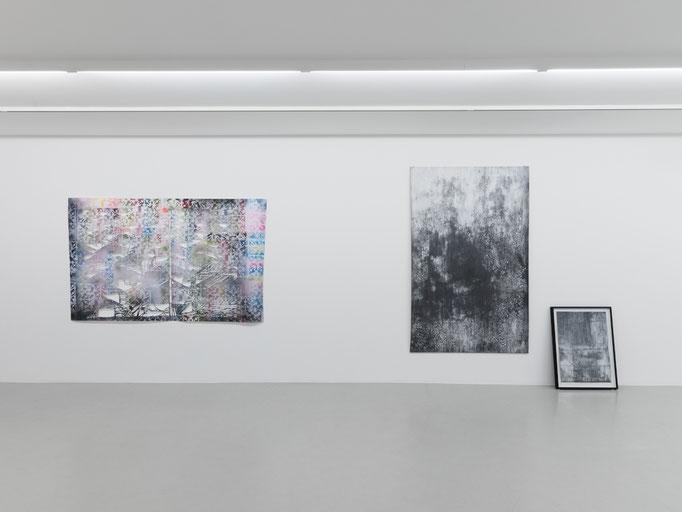 Ausstellungsansicht Basch, Lange