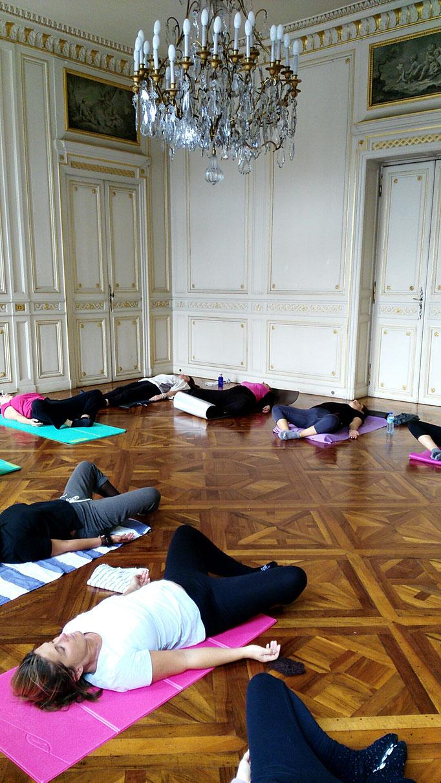 Cours de Pilates en comité d'entreprise