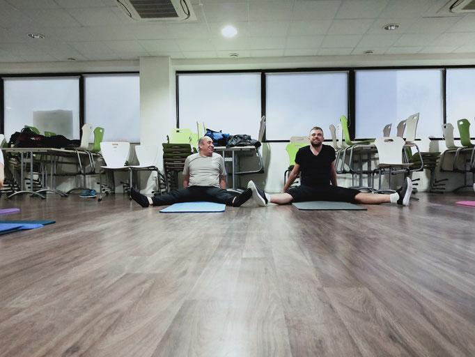 Pilates au travail