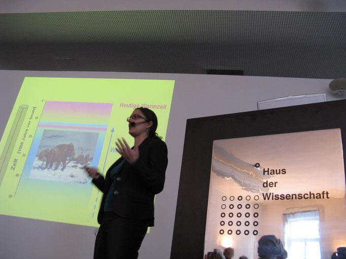12.10 Vortrag im Haus der Wissenschaft über Klimaforschung (Foto: Benno Patzer)