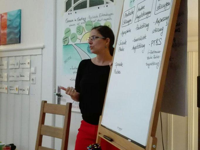 """08.18 Weiterbildungsmodul """"Psychische Störungen im Coaching"""" bei silcc (Foto: Gabriele Lindner)"""