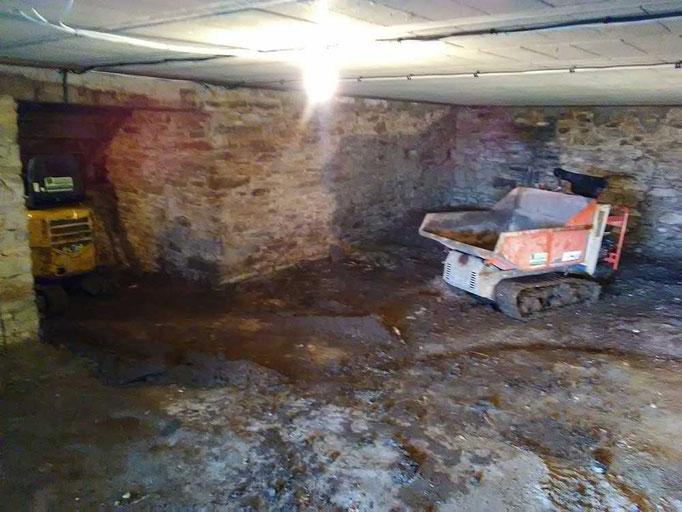 ED-TP décaissement de sous-sol