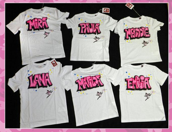 Airbrush-T-Shirts für s. Oliver Würzburg