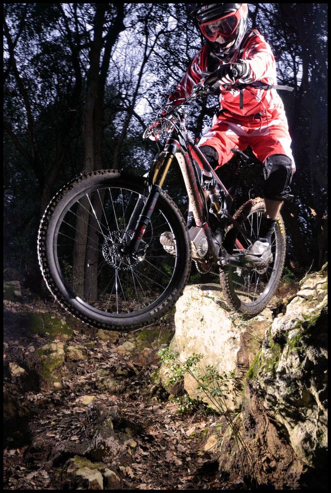 powerfull e-mountain bike