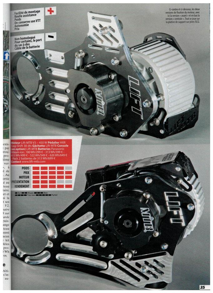 avis lift mtb kit moteur pédalier V3