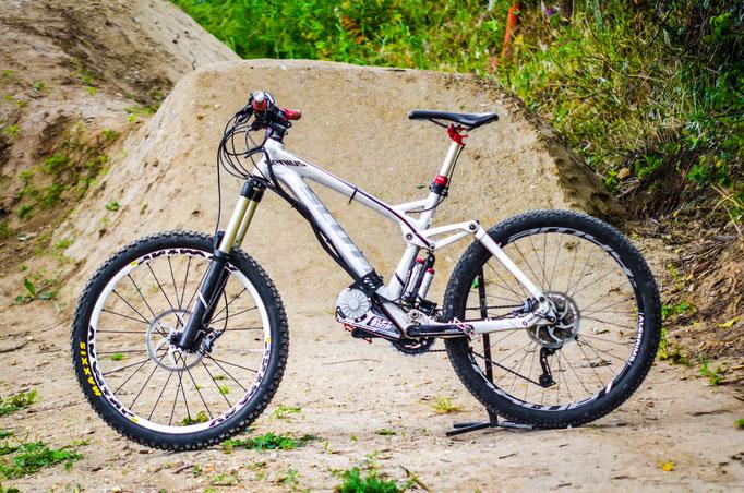 move classic bike into e-bike