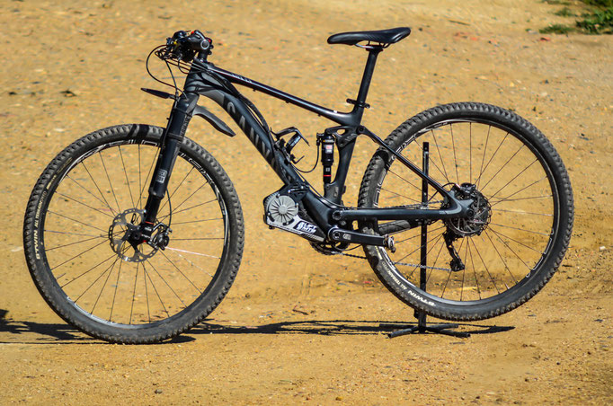 canyon e-bike