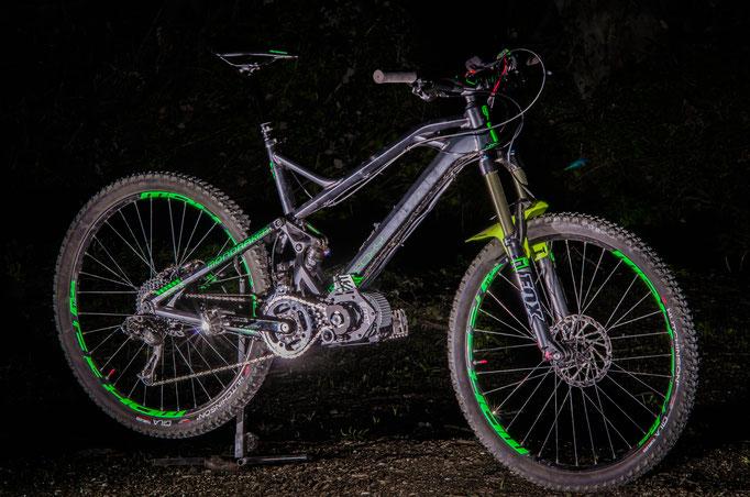 e-bike with kit