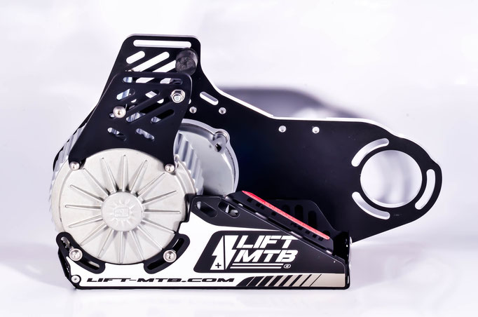 electric conversion kit black