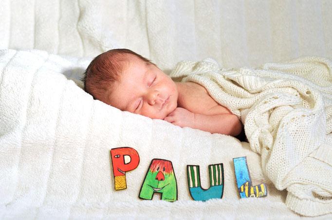 Paul mit 3 Wochen