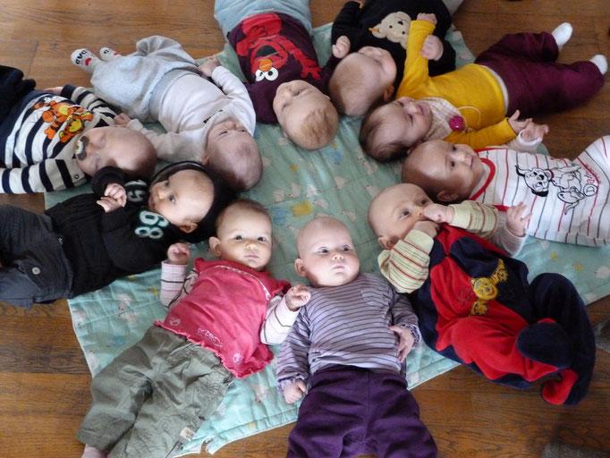 Babyrunde nach dem Rückbildungskurs