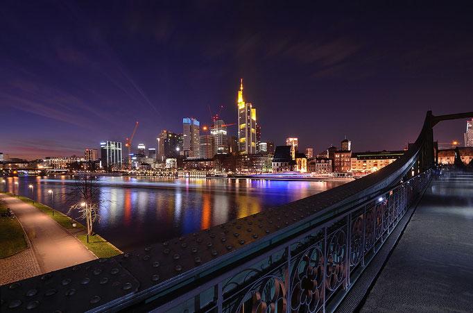Skyline vom Eisernen Steg - Frankfurt am Main
