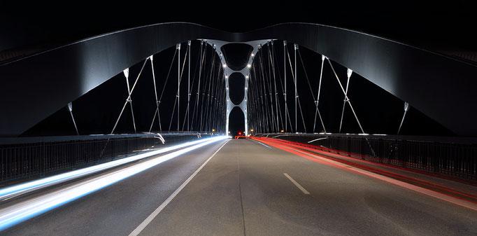 Osthafenbrücke - Frankfurt am Main