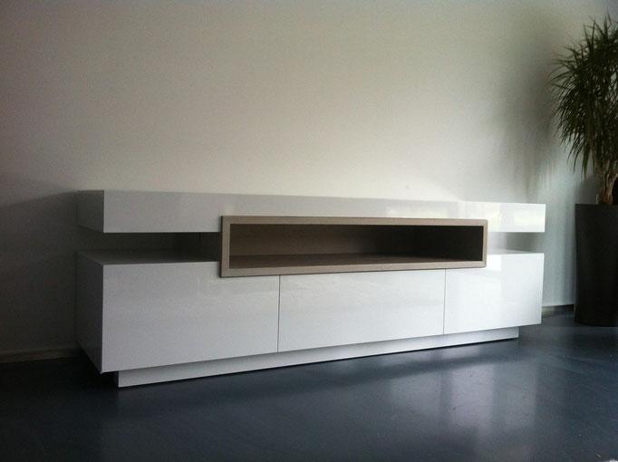 hoogglans tv meubel