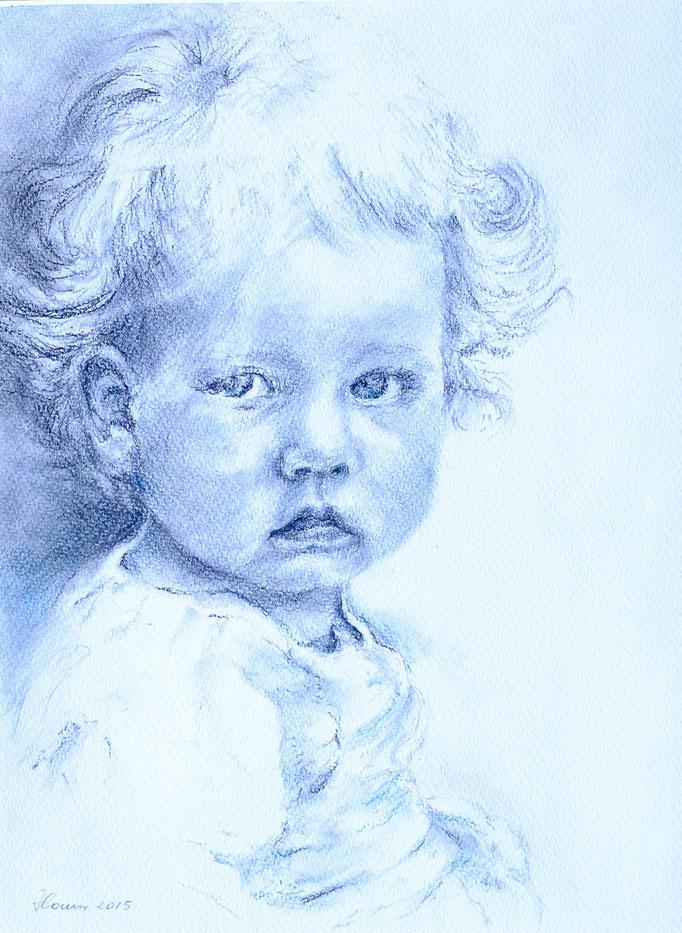 Valentina (Pastell, 41 cm x 31 cm)