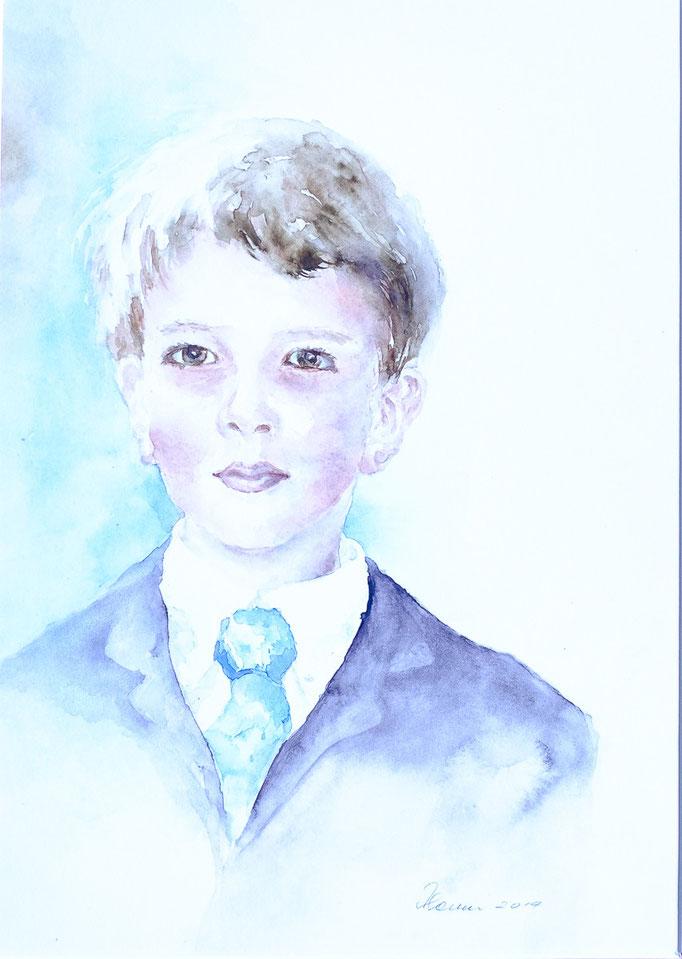 Felix (Aquarell, 36 cm x 26 cm)