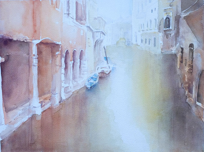 Venedig (Aquarell, 42 cm x 32 cm)