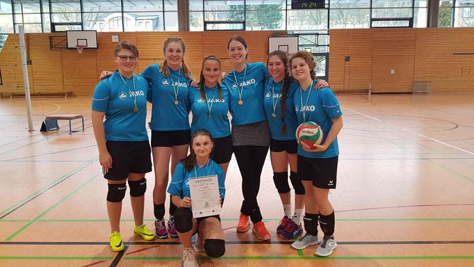 Mädchen WK II - Sieger Gymnasium Marienberg