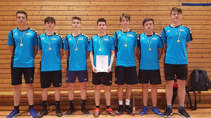 Jungen WK II - Sieger Oberschule Olbernhau