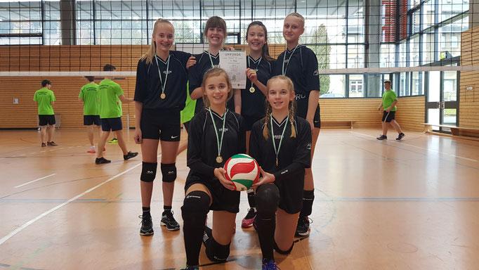 Mädchen WK III - Sieger Gymnasium Zschopau