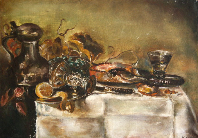 """NATURE MORTE"" - VENDU / SOLD"