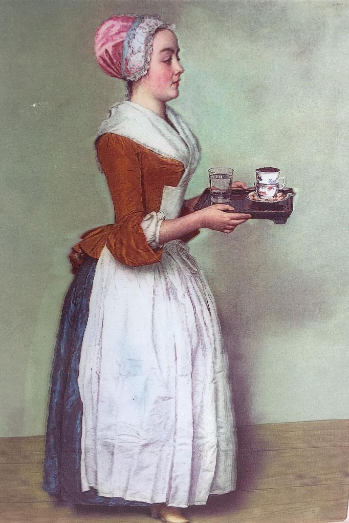 Das Schokoladenmädchen von Jean-Étienne Liotards
