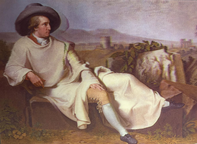 Goethe in der Campagna von Johann Heinrich Wilhelm Tischbein