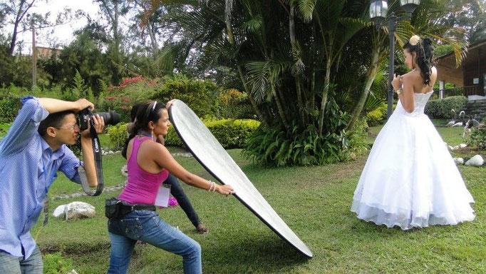 Practica Fotográfica de bodas en Dapa