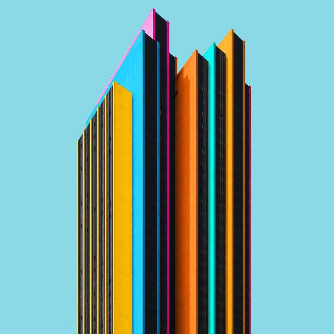 Layered high- rise - Hamburg