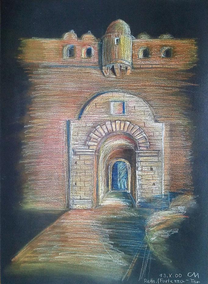 Tor der Festung Fortezza in Rethymnon