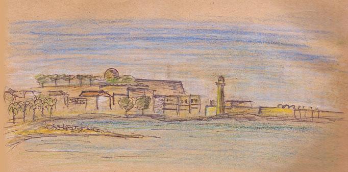 Hafenansicht von Rethymnon