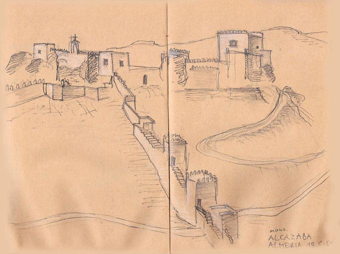 Maurische Hofburg Alcazaba, Almeria