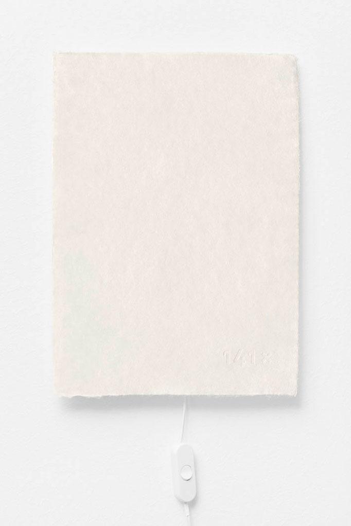 """Buchkunst/ Sound/ """"ich"""" / 30 × 40 cm"""