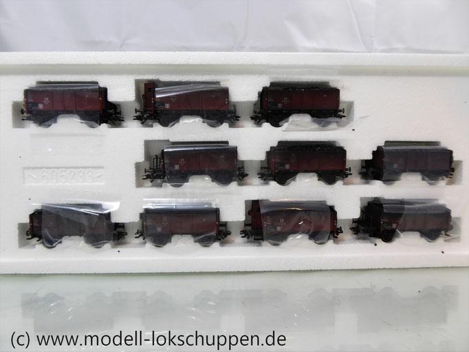 Märklin 46030  10-teiliges Kohlewagen-Set der frühen DB  fünfziger Jahre, Ep.3