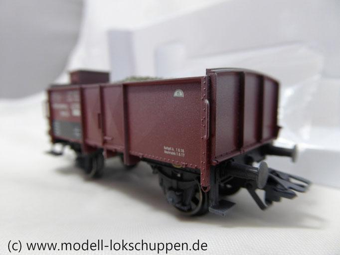 Märklin 46039 offener Güterwagen der K.W.St.E. mit Schotter