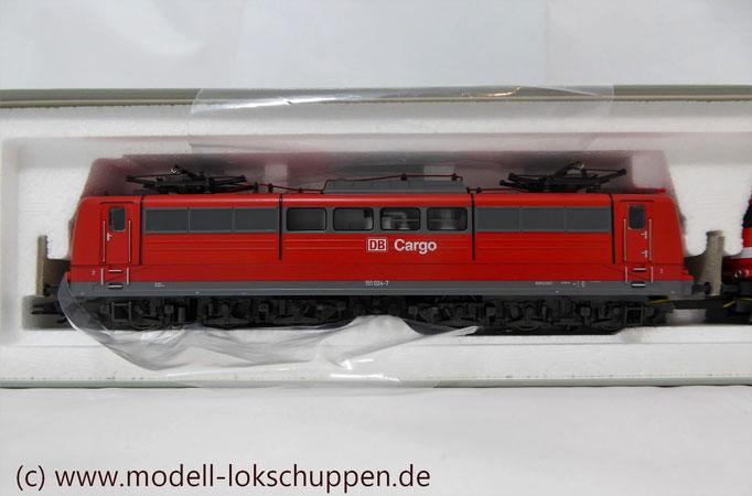 """Güterzuglokomotive """"Doppeltraktion"""" BR 151 der DB AG / Märklin 37432 MHI `99  4"""