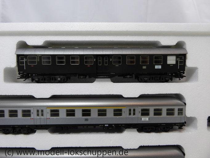 """Märklin H0 - 42756 - 5-teiliges Wagenset """"Nahverkehr"""" der DB"""