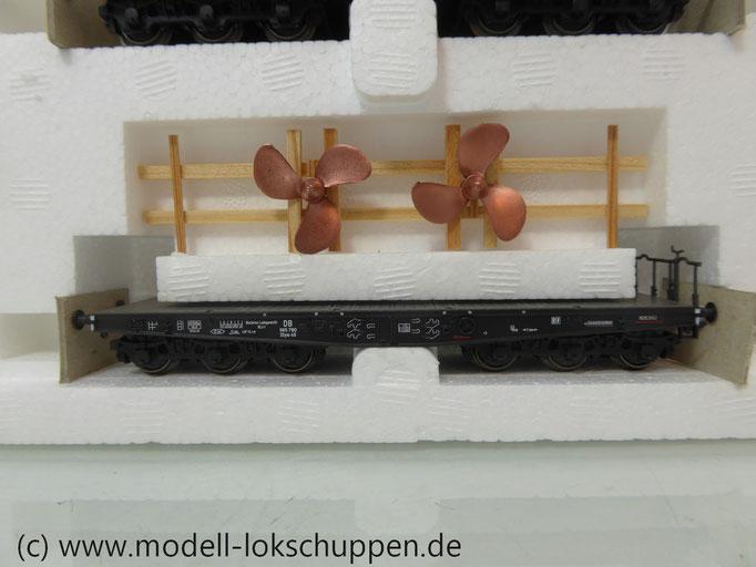 """Trix 24029 H0 Güterwagen-Set """"Schiffsausrüstung""""/ """"Tor zur Welt"""""""