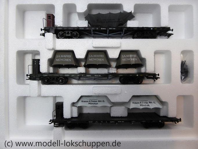 Märklin 46283 Wagen-Set ´Lokomotivfabriken´